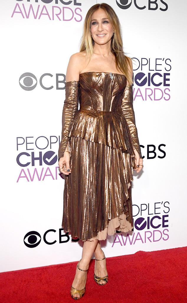 Sarah Jessica Parker, 2017 Peoples Choice Awards