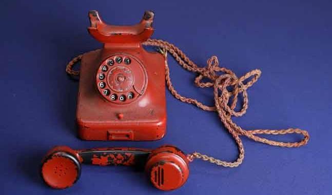 teléfono de la destrucción