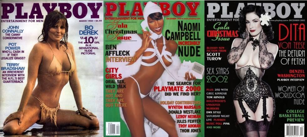 De izquierda a derecha: portadas de
