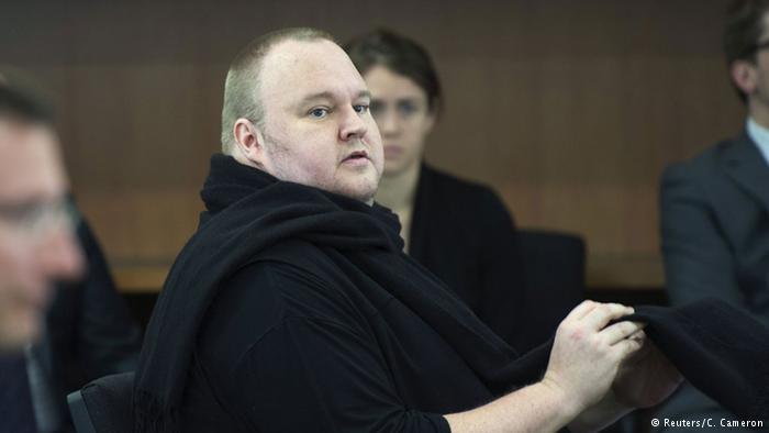 Neuseeland Gericht genehmigt Auslieferung von Kim Dotcom an USA (Reuters/C. Cameron)