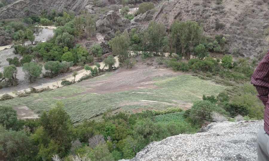 La furia del río Paicho dejó sin tierras a cientos de familias