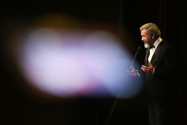 Mel Gibson en los premios de la academia australiana de cine y televisión.