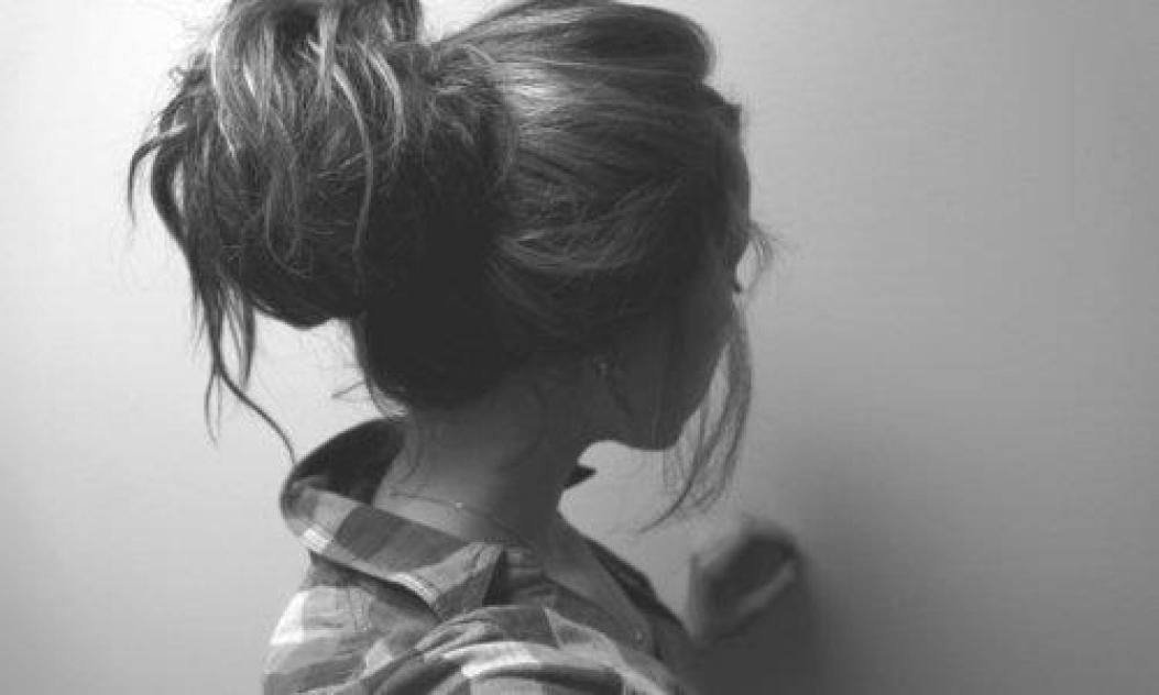 cabello amarrado
