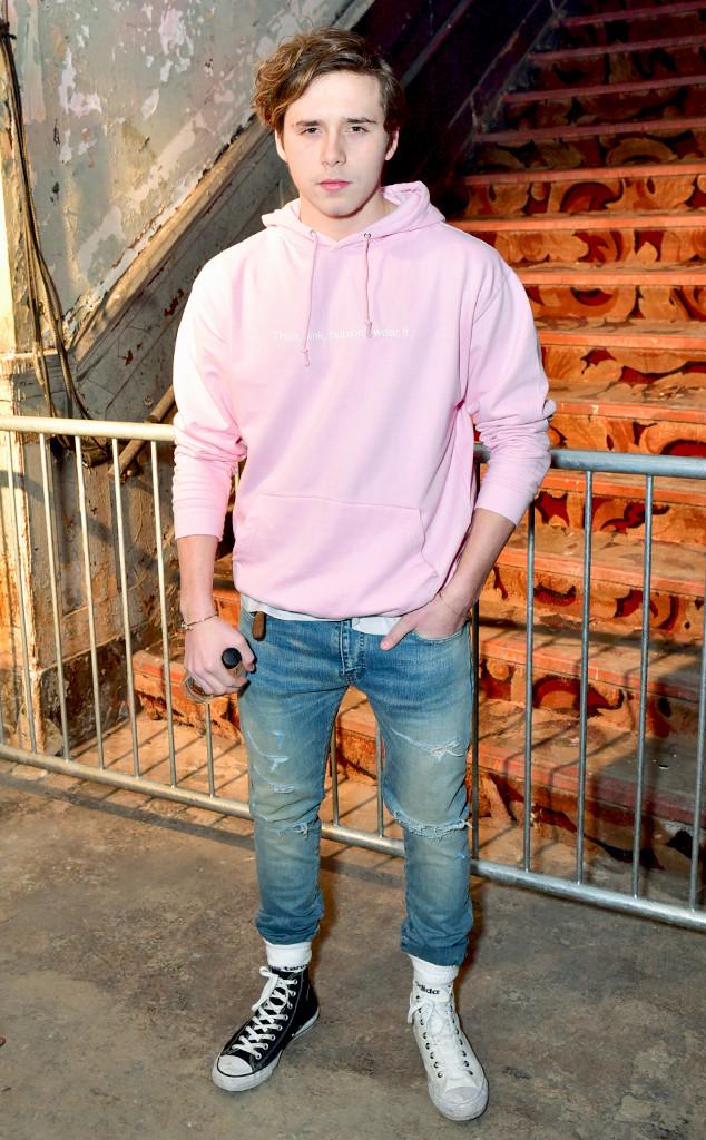 ESC: Alexander Wang, Brooklyn Beckham