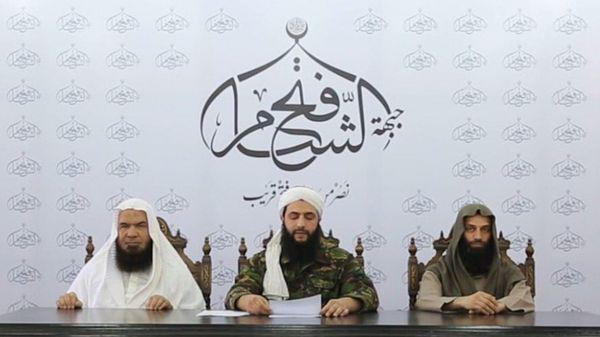 Abu Mohammad al Golani, líder del Frente Fatah al Sham (@jenanmoussa)