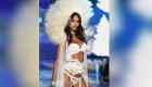 La modelo Lais Ribiero de Brasil, y nuevo ángel de la marca, camina en la pasarela durante el show de Victoria Secret este 10 de noviembre en Nueva York. (Crédito: Dimitrios Kambouris/Getty Images)