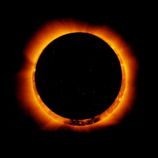 El anillo de fuego tras un eclipse solar anular