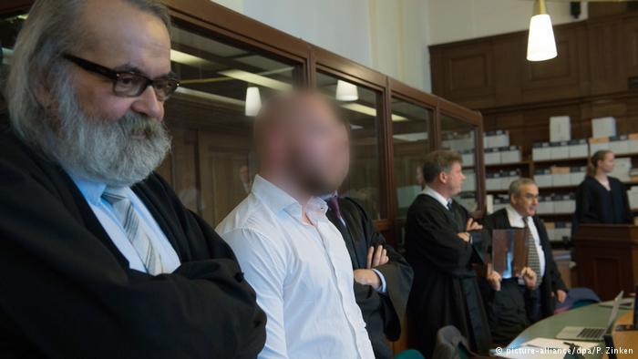 Deutschland Illegales Autorennen in Berlin Mordprozess eröffnet (picture-alliance/dpa/P. Zinken)