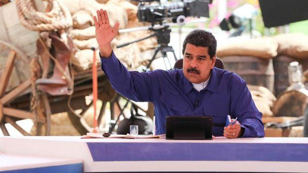 """El gobierno de Maduro acusa a la Iglesia de promover una """"guerra"""" y ha lanzado a sus militantes a realizar agresiones en sus templos(Reuters)"""