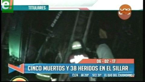 Video titulares de noticias de TV – Bolivia, mediodía del lunes 6 de febrero de 2017