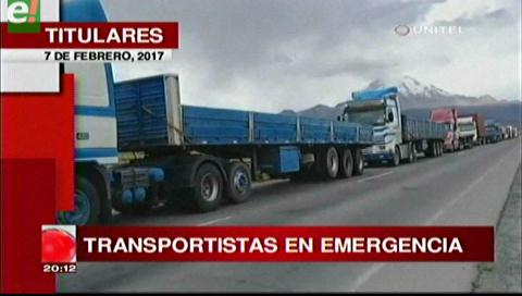 Video titulares de noticias de TV – Bolivia, noche del martes 7 de febrero de 2017