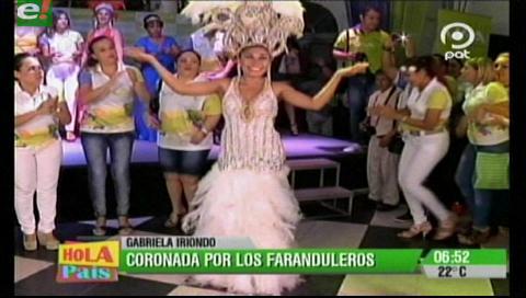 Los Faranduleros coronaron a Gabriela I