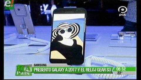 Samsung lanza Galaxy A 2017 en Bolivia creado para obtener las mejores selfies