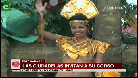 Las ciudadelas invitan al corso Tradicional