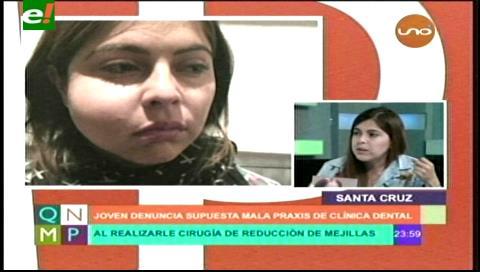 Denuncian a clínica odontológica de Santa Cruz por mala praxis