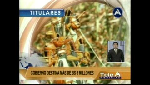 Video titulares de noticias de TV – Bolivia, noche del miércoles 8 de febrero de 2017