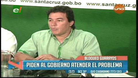 """""""La carretera Santa Cruz-Trinidad es competencia exclusiva del Gobierno"""""""