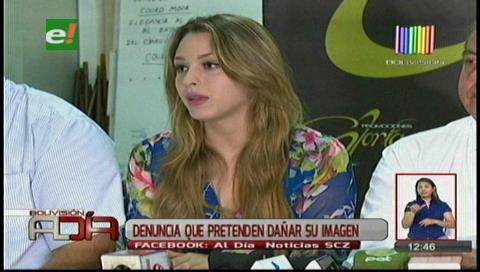 Miss Bolivia 2016 toma acciones penales contra difamadores