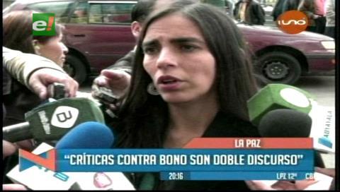 """Montaño dice que Revilla tiene """"doble discurso"""" sobre el bono para discapacitados"""