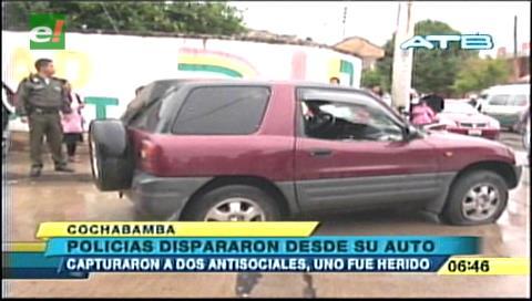 Cochabamba: Caen dos auteros tras balacera en Huayra Khasa