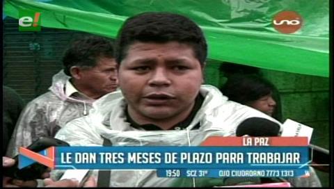 Cocaleros de Los Yungas no se moverán de la plaza Murillo hasta ser escuchados