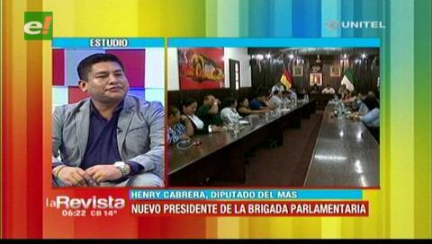 Cabrera dice que trabajará en los proyectos que no se avanzaron en la Brigada Cruceña