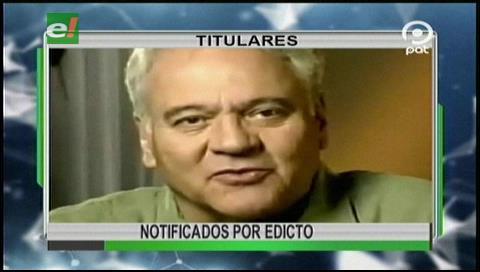Video titulares de noticias de TV – Bolivia, noche del miércoles 22 de febrero de 2017