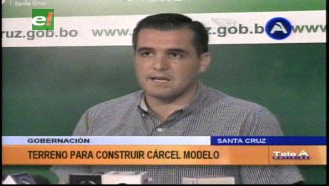 Gobernación cruceña lamenta los hechos ocurridos en Palmasola