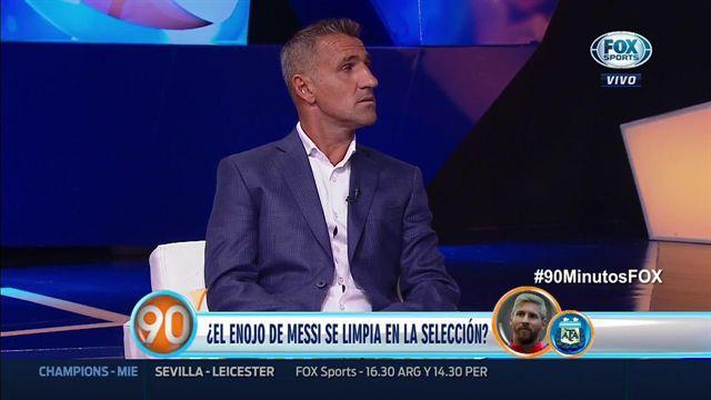 """Cascini: """"Si fuera Messi, me iría del Barcelona"""""""