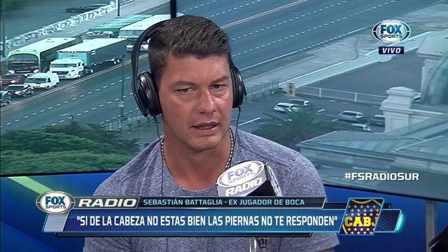 Battaglia: «No merecía el trato que tuve por parte de la dirigencia de Boca»