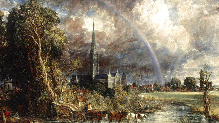 Profesor revela misterio de un arco iris en una pintura emblemática del siglo XIX