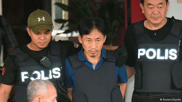 Ri Jong Chol, sospechoso del asesinato de Kim Jong-nam, fue liberado.