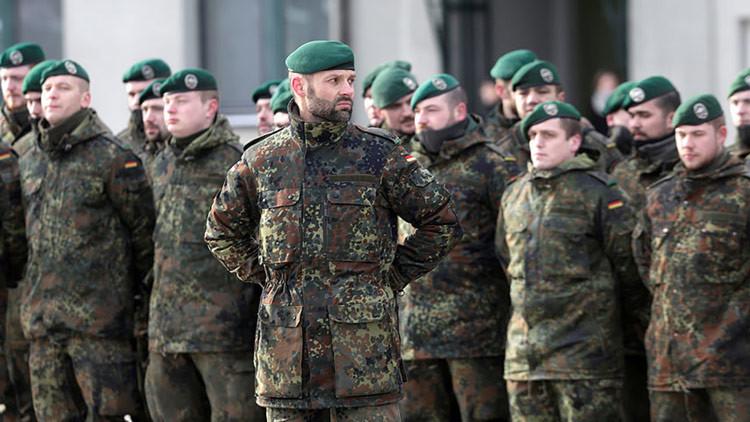 Alemania mantendrá tropas cerca de la frontera lituana con Rusia
