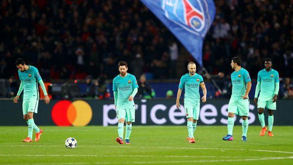 El Barcelona cayó 4-0 en la ida de los octavos de final (Getty)