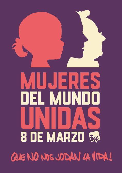Banner que convoca al Paro Internacional de las Mujeres en las redes sociales.