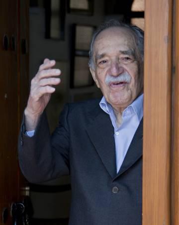 El escritor Gabriel García Márquez, el 6 de marzo de 2014, en Ciudad de México, cuando cumplió 87 años.