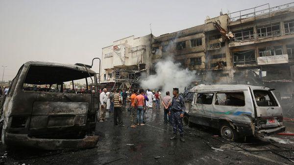 Los atentados suicidas contra civiles en Irak vienen en aumento a medida que el ISIS pierde terreno en la lucha contra el ejército iraquí (AFP)