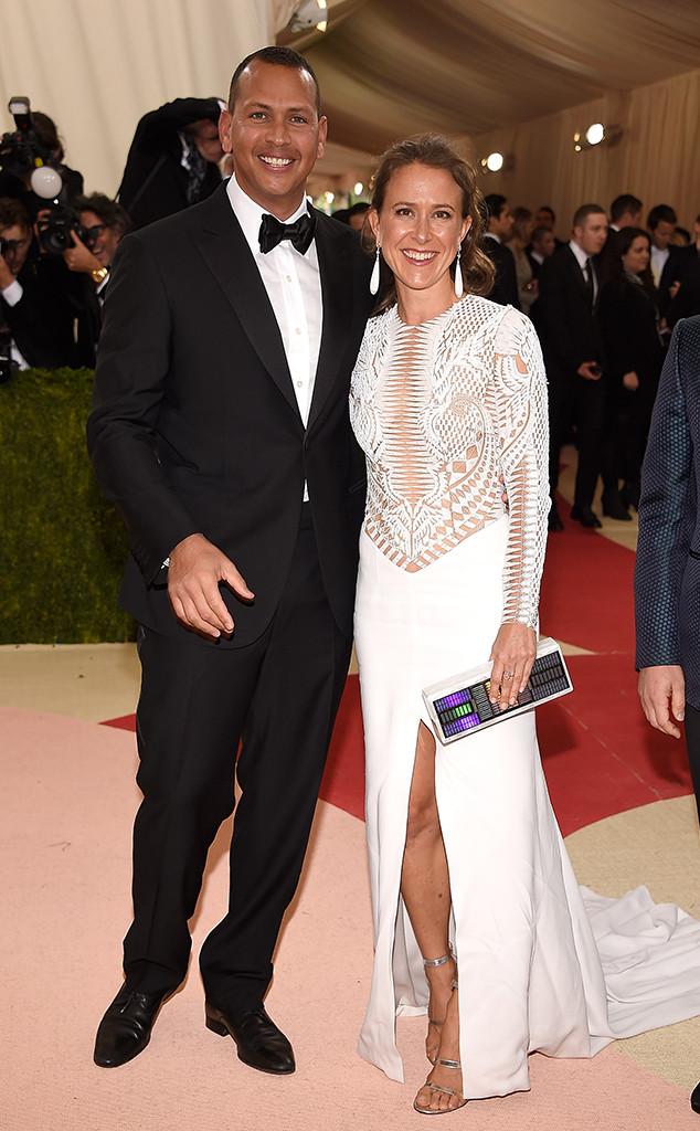 Alex Rodriguez, Anne Wojcicki, Met Gala 2016, Couples