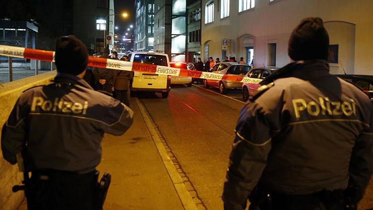 Suiza: Dos muertos tras un tiroteo en un café