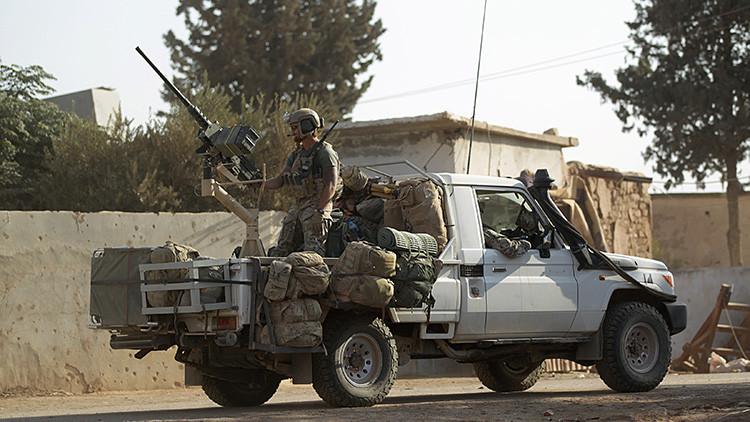 EE.UU. confirma que ha desplegado marines en Siria sin solicitar permiso a Damasco