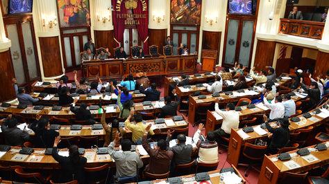 Sesión de la Cámara de Diputados