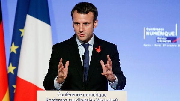 """Algunos medios y analistas hablan de Macron como el """"Kennedy francés"""" (Getty)"""