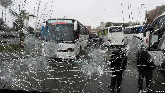 Mindestens 44 Tote bei Doppelanschlag in Damaskus (Reuters/O. Sanadiki)