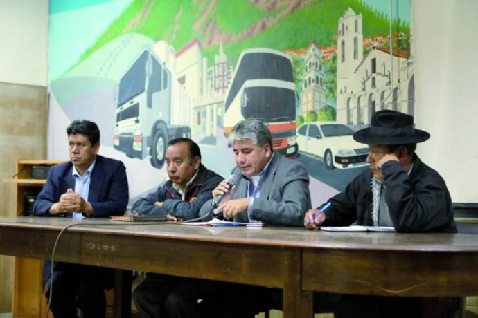 PROTESTA. Un comité de movlización se encargará de hacer cumplir la medida de presión exigiendo la atención a demandas..