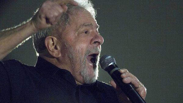 Lula da Silva en el acto del lunes ante campesinos (EFE)