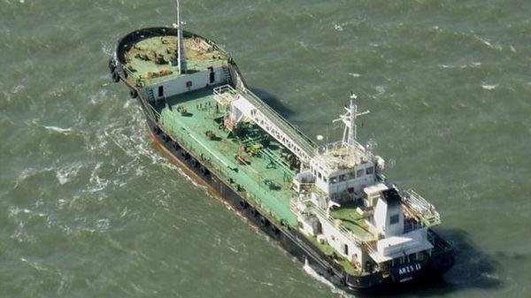 El barco secuestrado (AP)