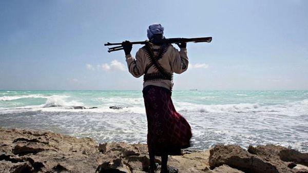 Un pirata somalí (AP)