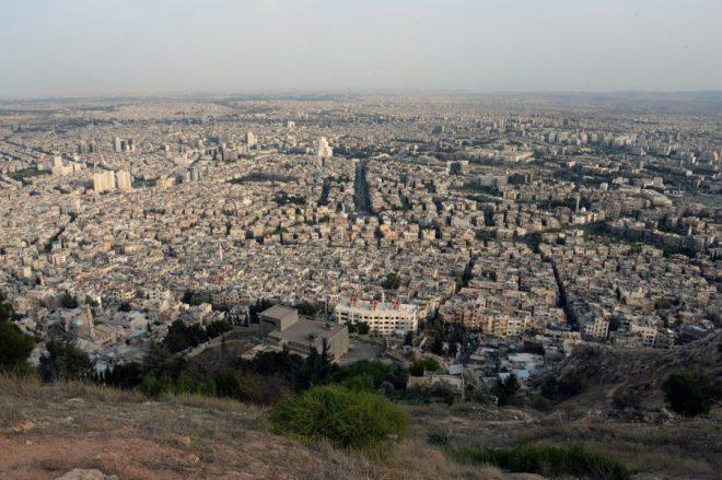 explosion en Damasco