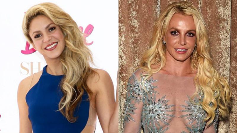 Shakira, Britney Spears