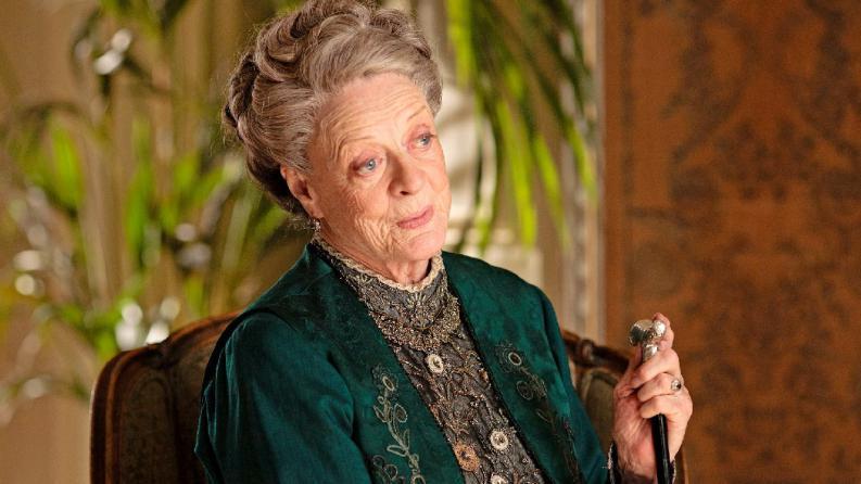 ancianitas de la television imposibles de olvidar violet crawley downton abbey